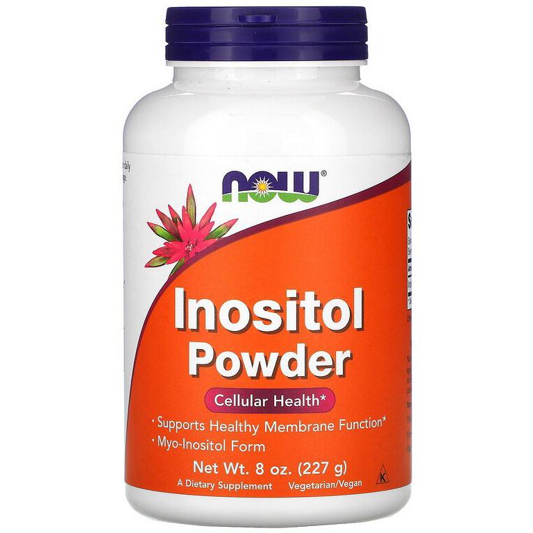 """Инозитол NOW Foods """"Inositol Powder"""" поддержка здоровья на клеточном уровне, чистый порошок (227 г)"""