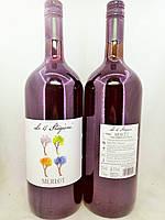"Вино червоне ""Merlot Le 4 Stagioni"" 1.5 l, фото 1"