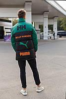 Пуховик мужской Puma. Куртка зимняя мужская