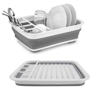 Складная настольная силиконовая сушка для посуды  Bowl rack