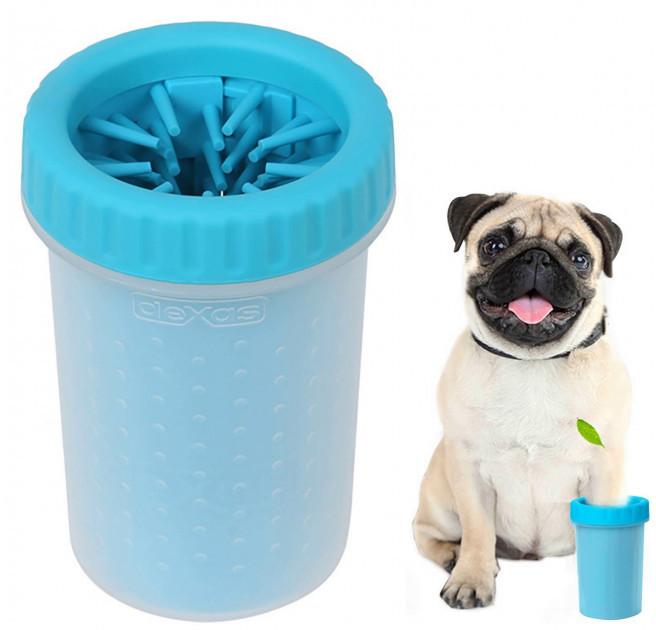 Лапомойка  для малых и средних пород собак   Емкость для мытья лап Soft Gentle (11 см)