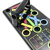 Доска для отжиманий 9 в 1   Упор для отжиманий от пола Foldable Push Up Board, фото 7