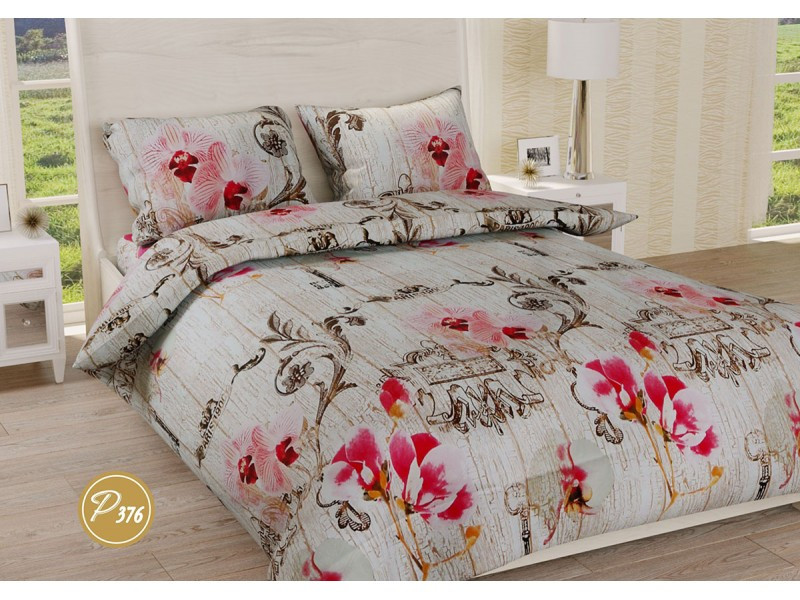 Комплект постельного белья Leleka-Textile Ранфорс 376 Евро