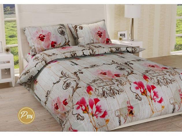 Комплект постельного белья Leleka-Textile Ранфорс 376 Евро, фото 2