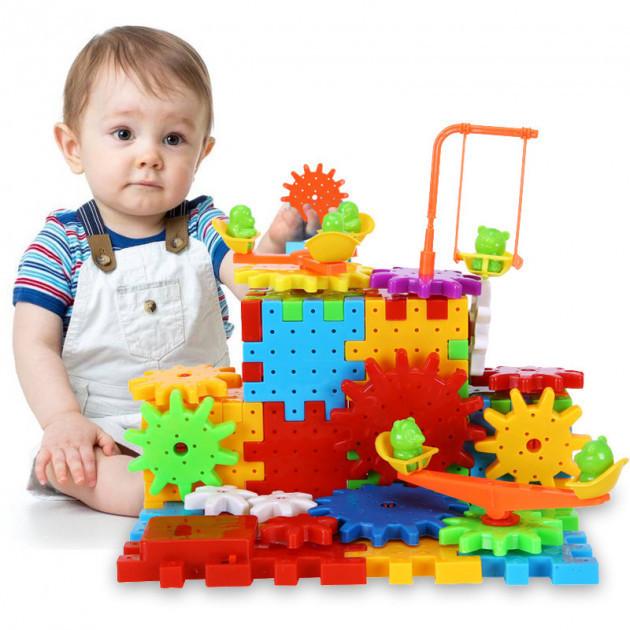 Дитячий розвиваючий конструктор Funny Bricks