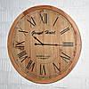 """Настінний годинник з натурального дерева """"Grand Hotel"""" (60 см.)"""