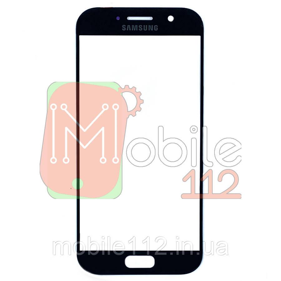Стекло дисплея Samsung Galaxy A5 2017 A520F черное