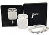 Беспроводные Bluetooth наушники в белом кейсе i100, фото 6