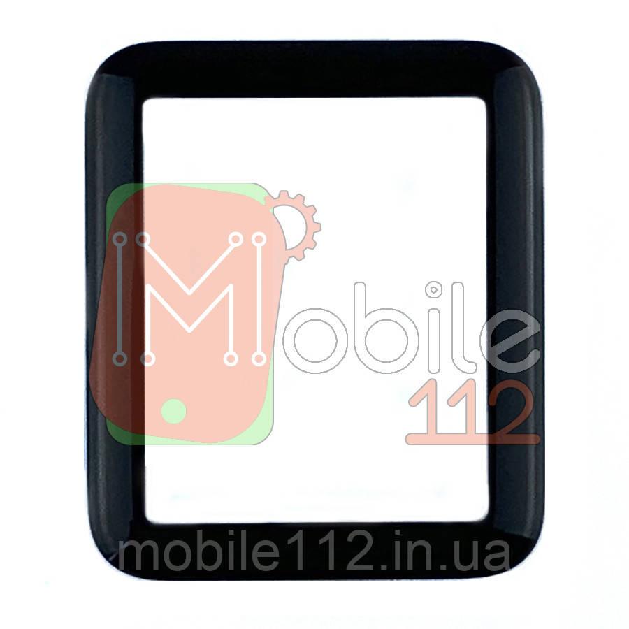 Стекло дисплея Apple Watch 1 38 мм A1578 черное