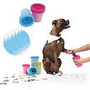 Лапомойка  для малых и средних пород собак | Емкость для мытья лап Soft Gentle (11 см), фото 2