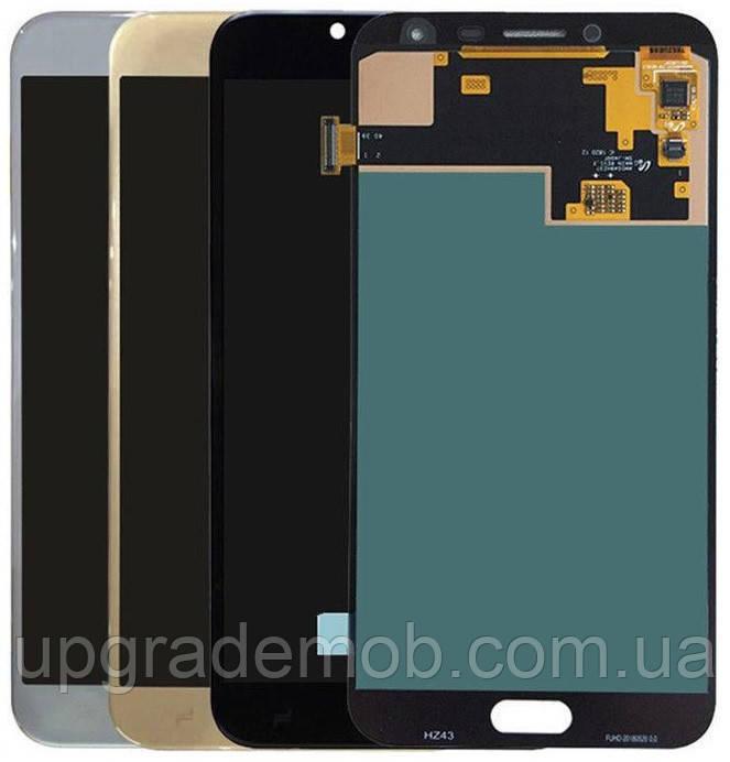 Дисплей Samsung J400F Galaxy J4 2018 тачскрин сенсор модуль, голубой, Lavenda, OLED, копия хорошего качества