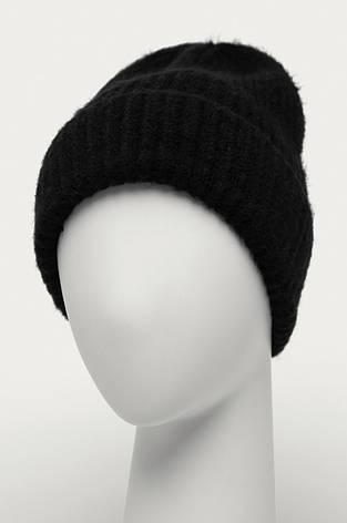 Жіноча шапка з заокругленим краєм чорна Medicine, фото 2