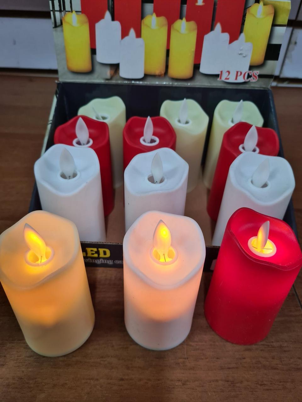 Led свеча с фитилем 10 см