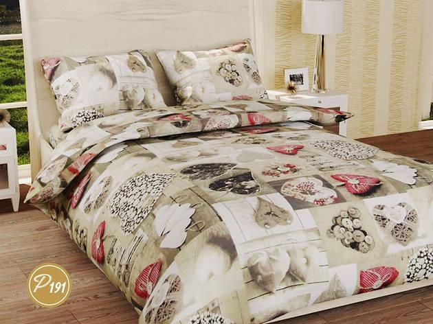 Комплект постельного белья Лелека Ранфорс 191 Семья, фото 2