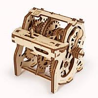 Механический 3D пазл STEM-модель Коробка передач UGEARS, фото 1