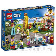 Конструктор LEGO City Town 60234 Комплект мініфігурок Веселий ярмарок