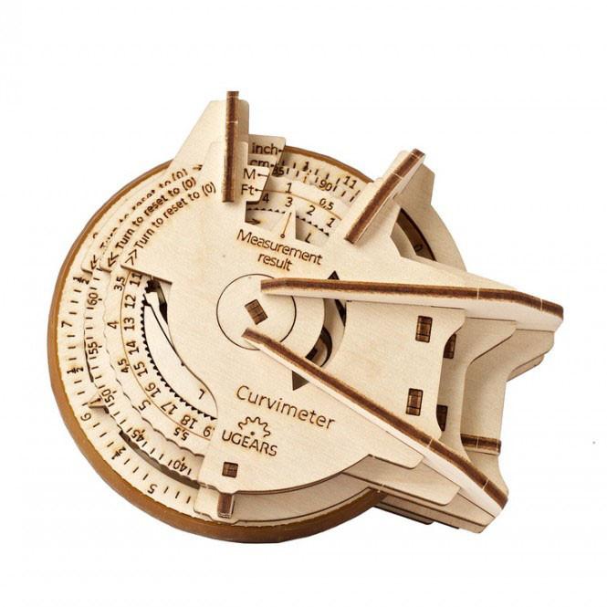 Механический 3D пазл STEM-модель Курвиметр UGEARS