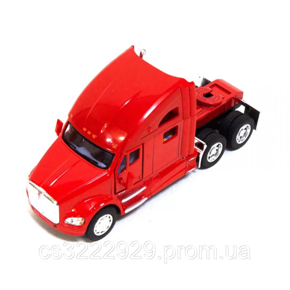 Железная машинка КТ5357 Kenworth T700 (Красный)