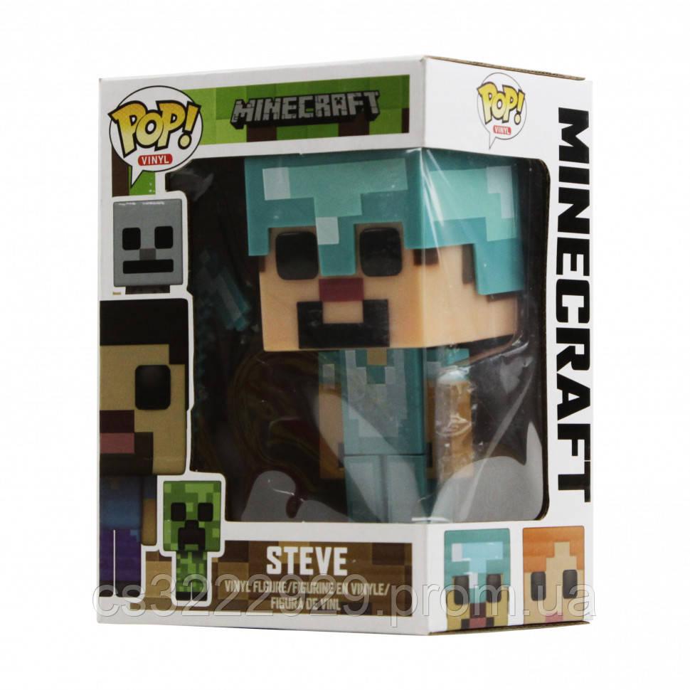 Фигурка Pop Minecraft 18892 ( Steve in  diamond 18892-005)