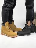Зимние женские ботинки Timberland НА МЕХУ (Распродажа), фото 5