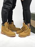 Зимние женские ботинки Timberland НА МЕХУ (Распродажа), фото 8