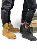 Зимние женские ботинки Timberland НА МЕХУ (Распродажа), фото 7