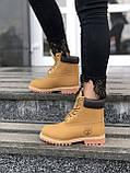 Зимние женские ботинки Timberland НА МЕХУ (Распродажа), фото 4