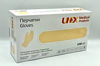Перчатки латексные нестерильные опудренные (50пар/упак), Размер S