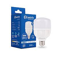 Лампа LED Lectris T140 50W 6500K 220V E27