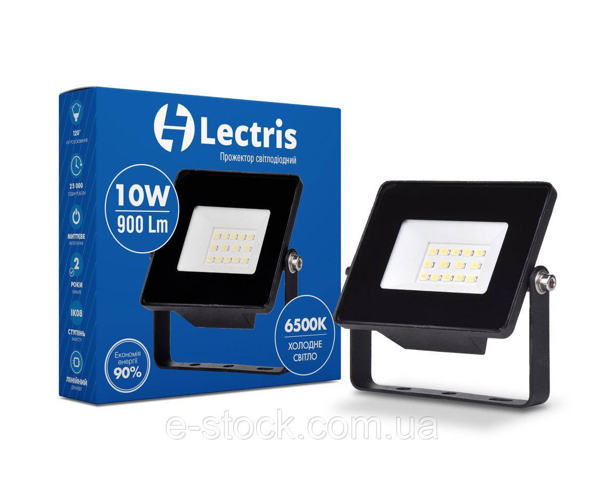 Прожектор LED Lectris 10W 900Лм 6500K 185-265V IP65
