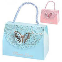 "Пакет-коробка подарочный бумажный ""Sweet love"" R16198 11*9 см 50шт/уп"