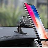Автомобильный держатель для телефона магнитный HOCO CA53 Черный, фото 7
