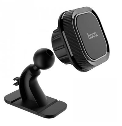 Автомобильный держатель для телефона магнитный HOCO CA53 Черный