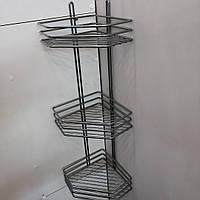 Полка сталь 3-ярусная, фото 1