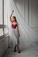Жіноче Плаття-бюстьє довжиною міді, фото 2