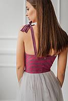 Жіноче Плаття-бюстьє довжиною міді, фото 4
