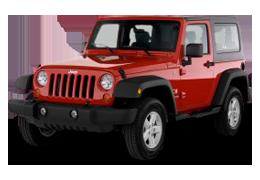 Коврики в салон для Jeep (Джип) Wrangler JK 2007-2018