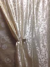 Ткань для штор Бонита кремовый S-819