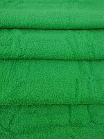 Полотенце махровое зелёное 100*150