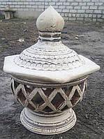 Фигура садовая светильник Сиам 50 см керамика