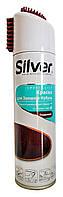 Краска для замши и нубука Silver Specialist Бордовый спрей - 250 мл.