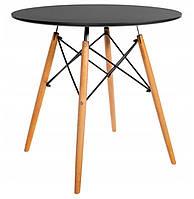 Стол обеденный круглый Bonro В-957-800 Черный, фото 1