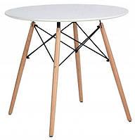 Стол обеденный круглый Bonro В-957-900 Белый, фото 1