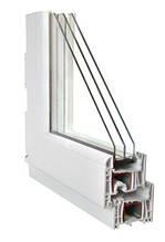 PVC (metal-plastic) windows.