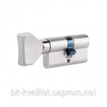 Цилиндр ISEO R6 85 (55х30) ключ/тумблер, никель