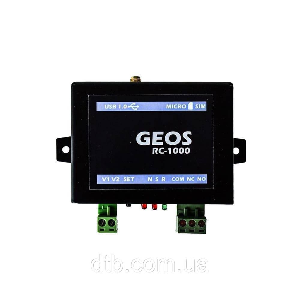 GSM модуль GEOS RC-1000 для ворот и шлагбаумов