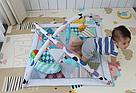 Коврик - вигвам с дугами и погремушками для младенцев ( 2 в 1) JL634-1D, фото 2