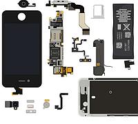 Запчасти и комплектующие для телефонов и планшетов