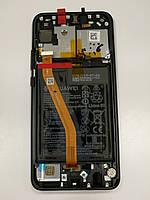 Дисплейный модуль Black/Черный для смартфона Huawei P Smart plus / Nova 3 02352BUE Оригинал