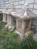 Садовый китайский фонарик Дом 66 см, фото 2